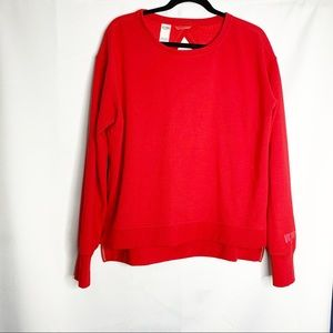 Victoria's Secret sport read open back sweatshirt